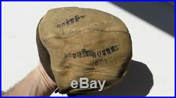 WW2 US Army Air Force USAAF Air Corps A-11 Leather Flight Helmet Medium ID'D