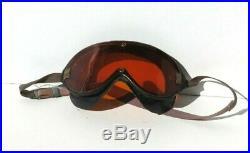 WW2 US Army Military AIR FORCE B-8 Flight Flying Goggles Polaroid