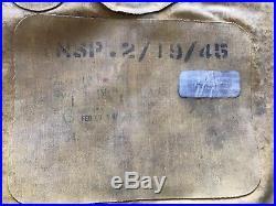 WW2 US USAAF Army Air Force Mae West B-4 Life Preserver Vest 1942
