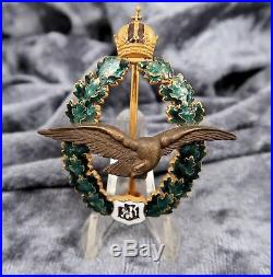 WWI Austria Air Force pilot medal badge German enamel pin WW2 US Army estate buy