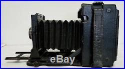 WWII Era Vtg GRAFLEX 4X5 Camera, Ground, Type C-3 Property Air Force U. S. Army