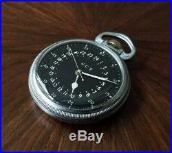WWII HAMILTON Navigation POCKET WATCH 4992B US Army Air Force