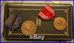 WWII Purple Heart group to US Army Air Force airman