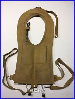 WWII U. S. ARMY AIR FORCE Life Preserver Vest MAE WEST B4 D-Day Pilot Paratrooper