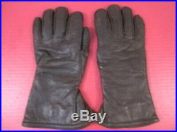 WWII US AAF Army Air Force F2 or F3 Electrically Heated Leather Flying Gloves