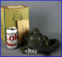 WWII US ARMY AIR FORCES PILOTS FLIGHT OXYGEN MASK TYPE A-14 with original BOX
