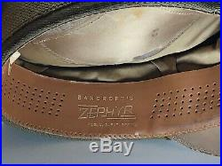 WWII US Army Air Force Bancroft Zephyr Crusher Cap Crush Hat Service Cap 7-3/8