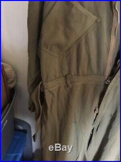 WWII US Army Air Force Flight Suit Type A-4 size 46
