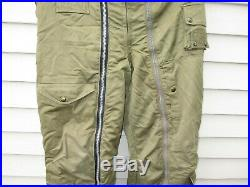 WWII US Army Air Force Flying Trousers Type A11-A Intermediate Large Size 34