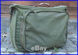 WWII US Army Air Force Type B-4 Bag Piloten-Uniform-Tasche San Antonio Texas