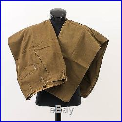 WWII US Army Air Force Uniform Men's 36S Green Wool Field Jacket Two 32x31 Pants