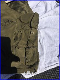 WWII US Army Air Forces Pilot Emergency Sustenance Type C-1 Flight Vest Original