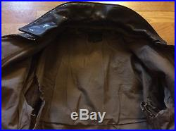 WWII USAAF US Army Air Force A-2 Bomber Flight Jacket. Aircraft Arrival Report