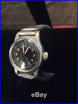 WWII WALTHAM US ARMY AIR FORCE A-11 Watch