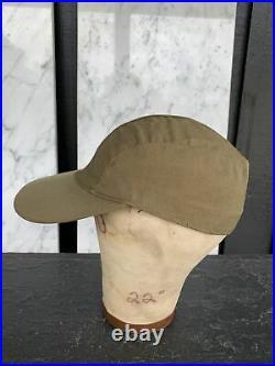 WWII WW2 US Army Air Forces USAAF B-1 B1 Summer Flying Cap Pilot Flight Hat