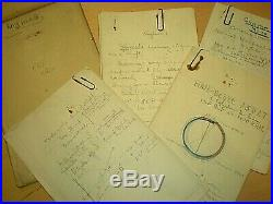 Ww1. 1918. U. S. Army Pilot. Aviation Original Training Notes. Call Field. Texas