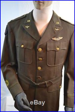 Wwii Us Army Air Force Officer's Ww2 Tunic Jacket Uniform 20th Air Force